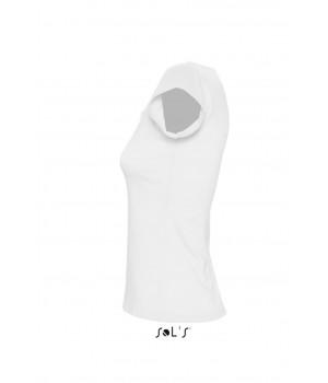 Дамска, бяла тениска Sol's с къс ръкав
