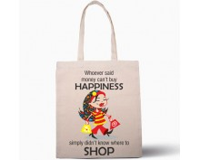 Чанта Money can't buy happiness